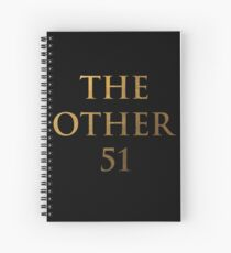 Hamilton - The other 51 (Inverted) Spiral Notebook