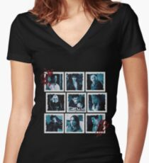 Grimm Women's Fitted V-Neck T-Shirt