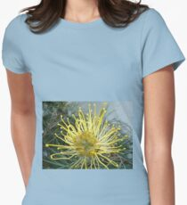 Opened wide - Pretty Grevillea inside Womens Fitted T-Shirt