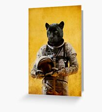 Space Jag Greeting Card