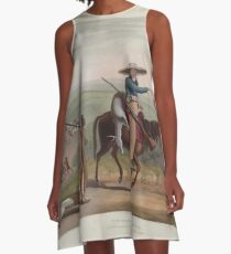 African Scenery and Animals Samuel and William Daniell 1804 0039 Boors Returning from Hunting_jpg A-Line Dress