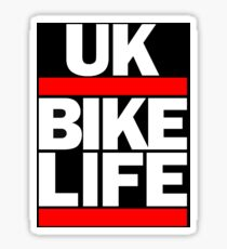 Bikelife UK Dirt Bike Moped MTB Sticker
