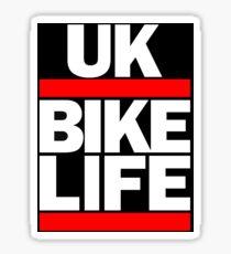 Bikelife UK Dirt Bike Moped MTB Sticker