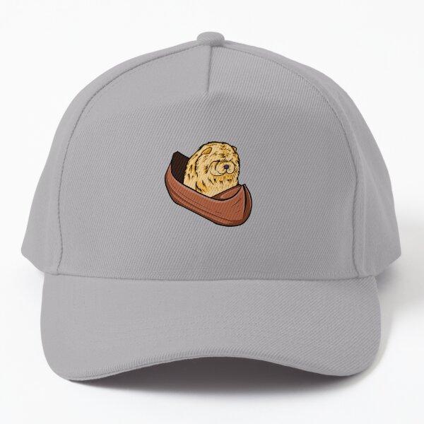 Chow chow dog riding a boat  Baseball Cap