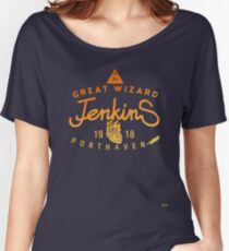 THE GREAT WIZARD JENKINS - burningheart Women's Relaxed Fit T-Shirt