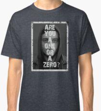 Elliot Alderson - Mr Robot - frame Classic T-Shirt