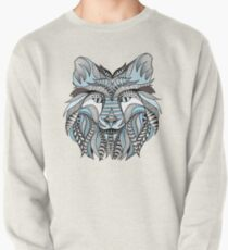Winter wolf Pullover
