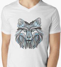 Winter wolf Men's V-Neck T-Shirt