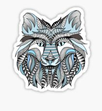 Winter wolf Sticker