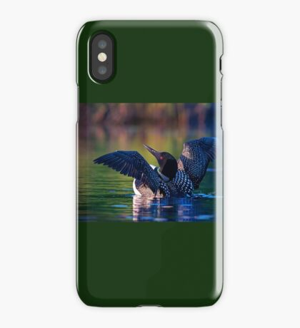 Rise 'n shine - Common loon iPhone Case/Skin