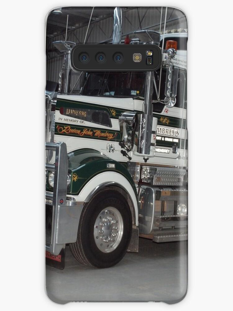 'Membrey's Transport and Crane Hire - 4ROWAN' Case/Skin for Samsung Galaxy  by Joe Hupp