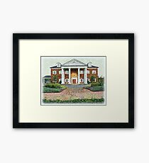 Colonial Revival Style Framed Print
