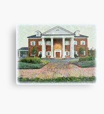 Colonial Revival Style Metal Print