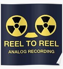 Reel to reel analog recording Poster