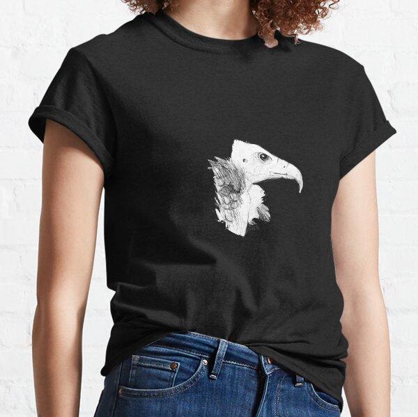 Croquis de vautour T-shirt classique