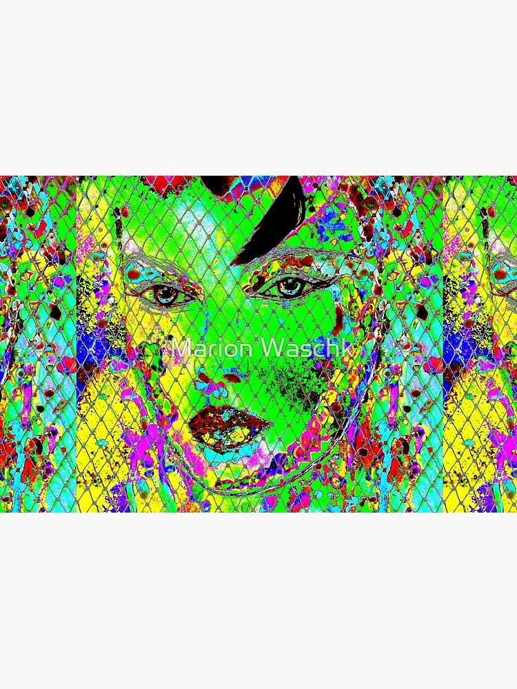 geheimnisvolle Schönheit I - mysterious beauty I - psychodelic-mw art von mwart