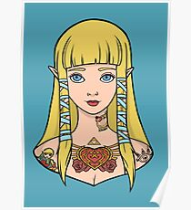 Zelda - Skyward Sword (SG Style) Poster