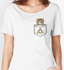 Legend Of Zelda - Pocket Zelda Women's Relaxed Fit T-Shirt