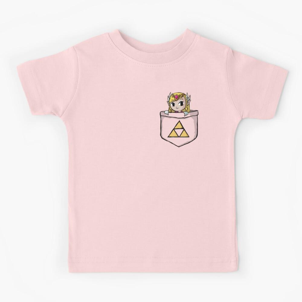 Legend Of Zelda - Pocket Zelda Kids T-Shirt