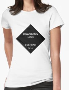 G-Eazy Downtown love Womens Fitted T-Shirt
