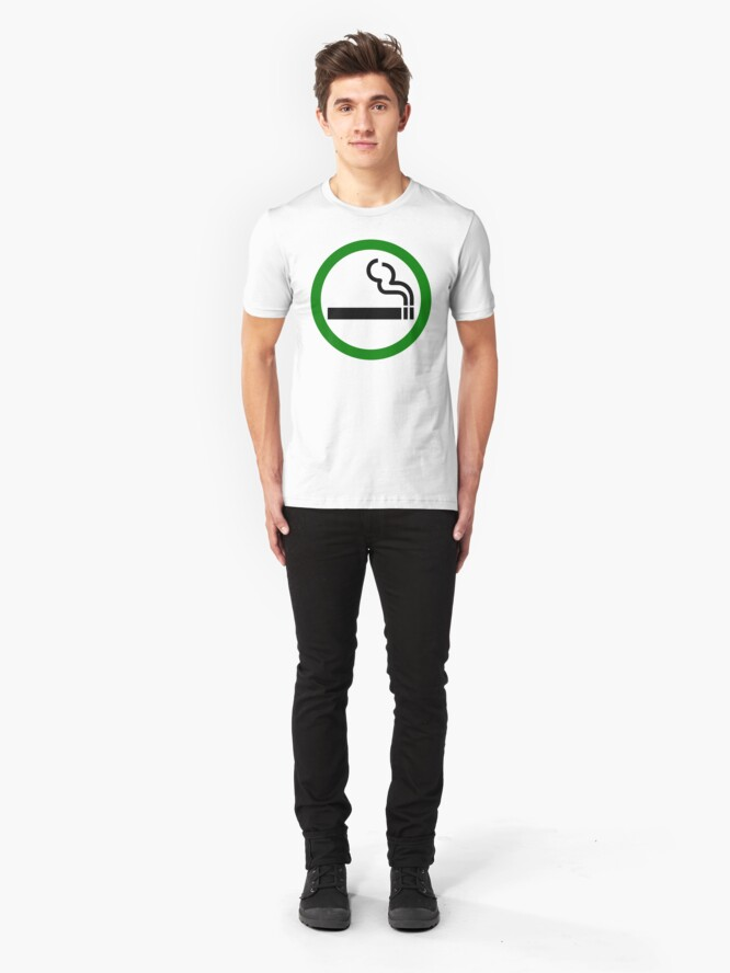 Alternate view of Smoke Up Slim Fit T-Shirt