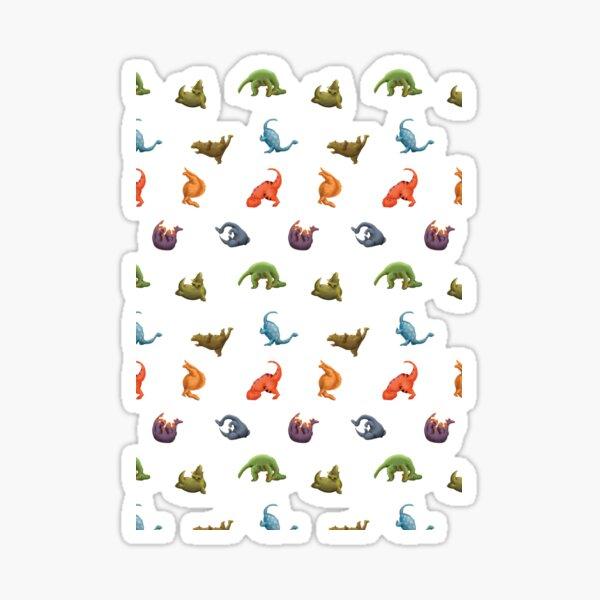 Yogasaurus Sticker