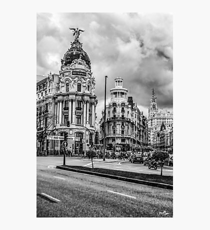 Metropolis Building Photographic Print