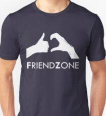 Friendzone (white text) T-Shirt