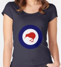 Royal New Zealand Air Force - Roundel Women's Fitted Scoop T-Shirt