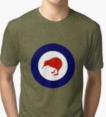 Royal New Zealand Luftwaffe - Roundel Vintage T-Shirt