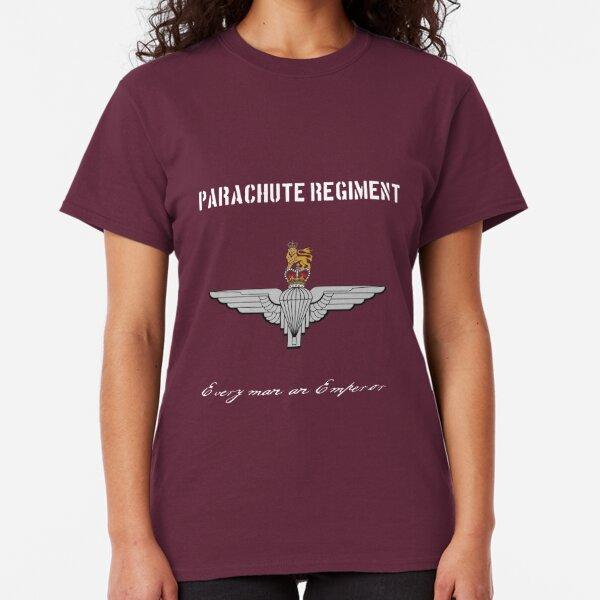 Para TShirt Parachute Regiment T-Shirt Red Devils Tshirt