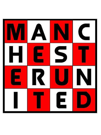 Manchester united red white and black by bigreddot