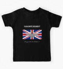 """Parachute Regiment (UK) """"Every Man An Emperor"""" Kids Tee"""