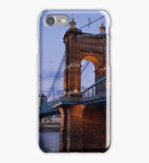 John A Roebling Bridge 1867 iPhone Case/Skin