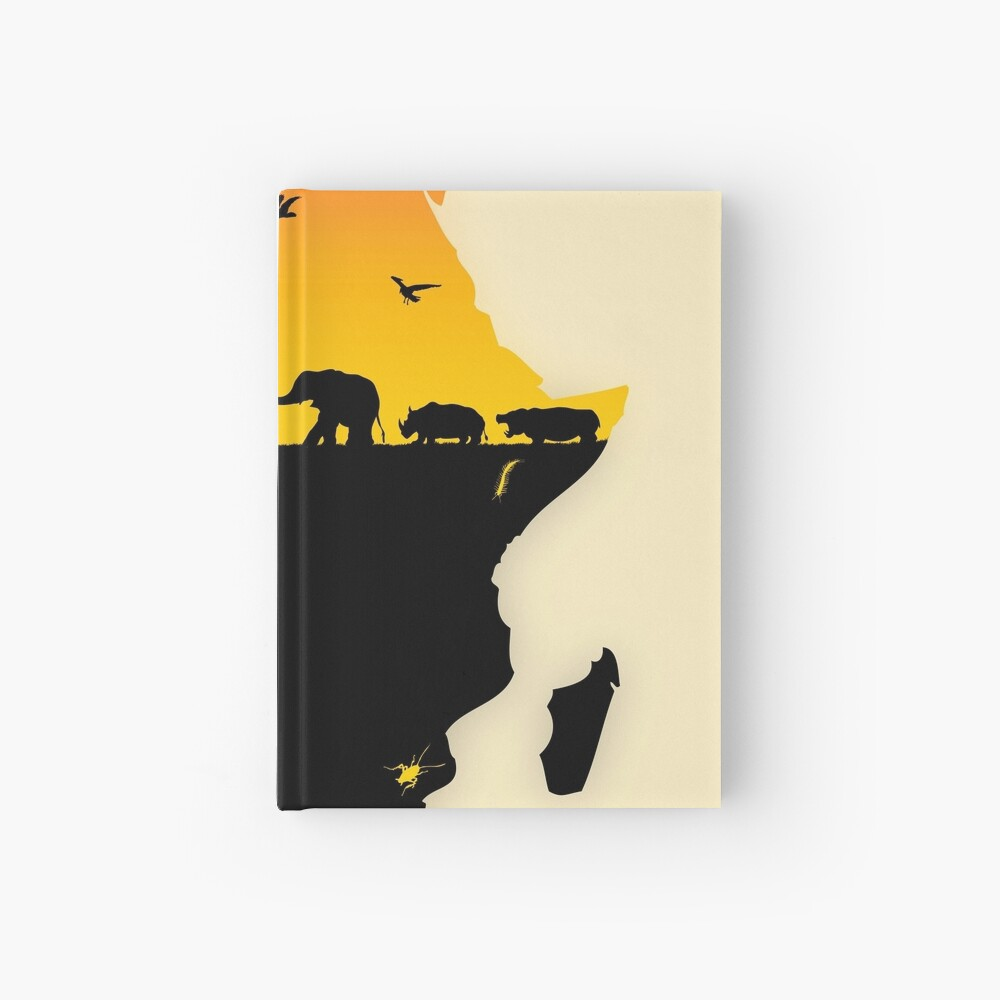 Africa Hardcover Journal