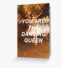 Degas' Dancing Queen Greeting Card