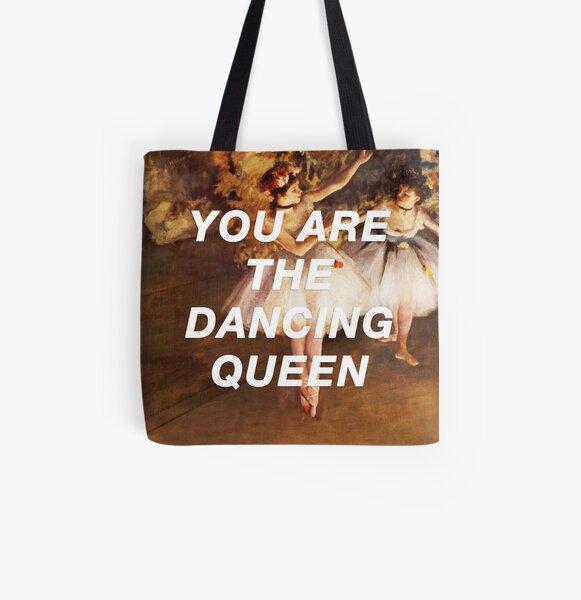 Degas' Dancing Queen All Over Print Tote Bag