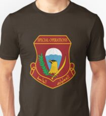 Iraqi Special Operations Forces (ISOF) - قوات العمليات الخاصة العراقية Unisex T-Shirt