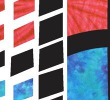 Tie Dye Windows 95 Sticker