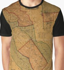 Map Of Camden 1857 Graphic T-Shirt
