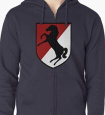 11th Armored Cavalry Regiment (US Army) Zipped Hoodie