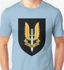 Special Air Service (Gold - Black Shield) T-Shirt