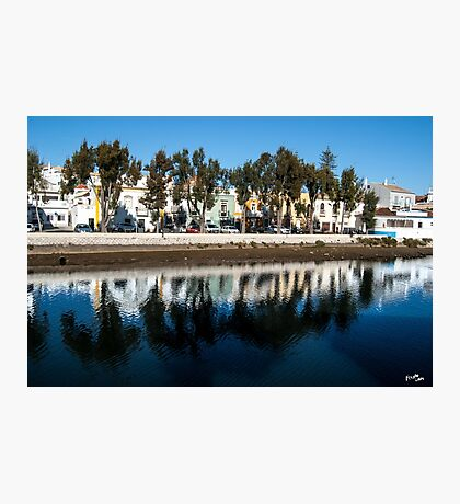Tavira River Line Photographic Print