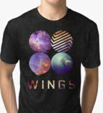 BTS nebula Tri-blend T-Shirt