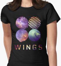 BTS nebula Women's Fitted T-Shirt