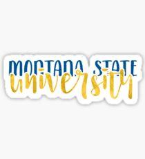 Montana State - Style 1 Sticker