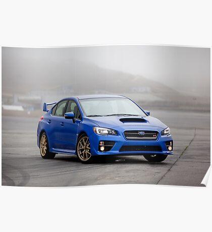 Subaru wrx sti Poster