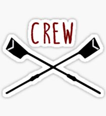 Women's Rowing Crew Sticker