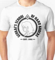 Genkai's School of Hard Knocks | Black and White Unisex T-Shirt