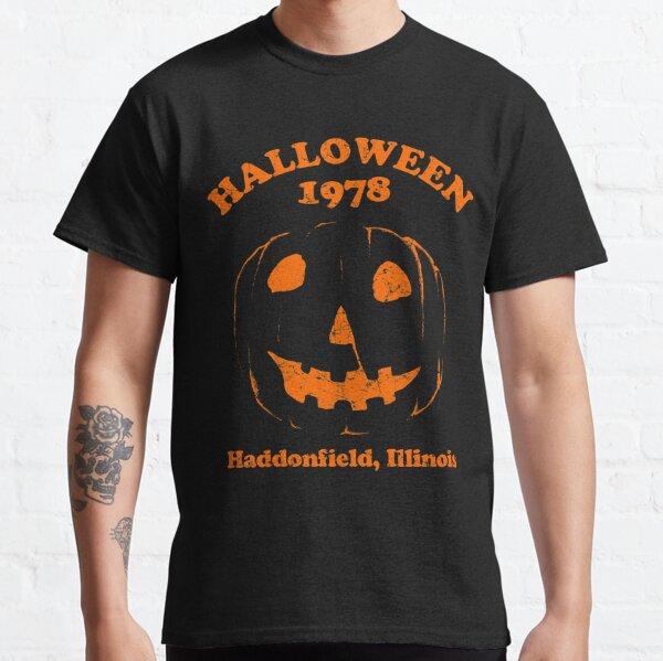 Halloween 1978 Holiday Spooky Myers Pumpkin Haddonfield Classic T-Shirt